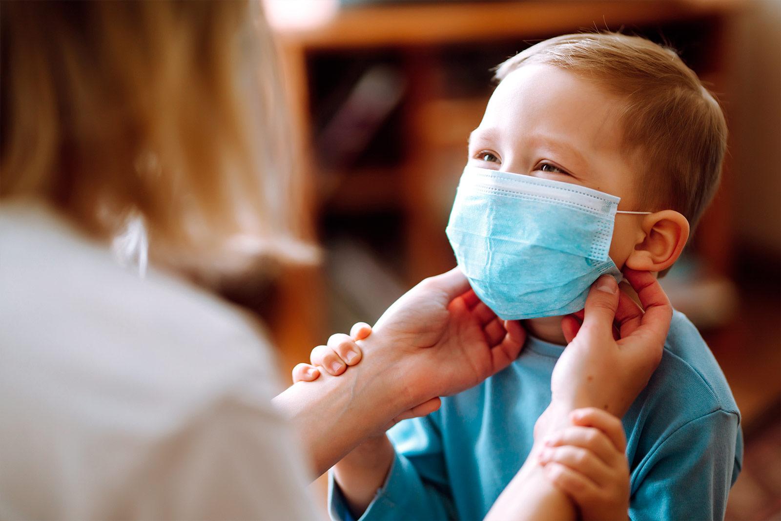Atemschutzmasken für Kinder - Wie anziehen?